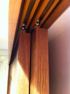Shutters Paulownia Wood