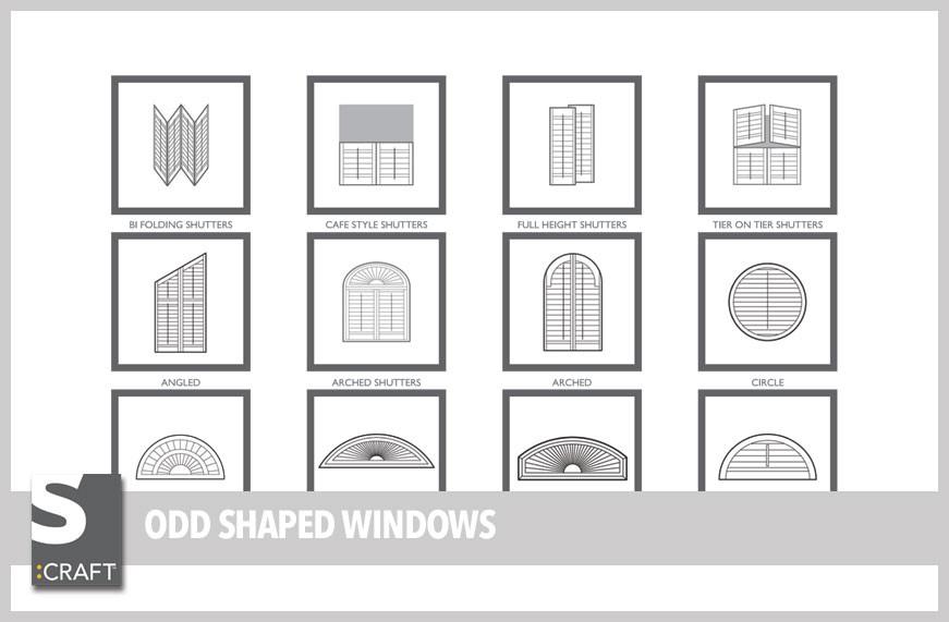Odd shaped windows