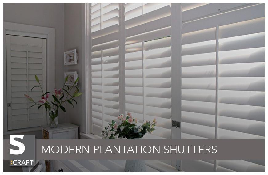 Plantation Shutters Modern