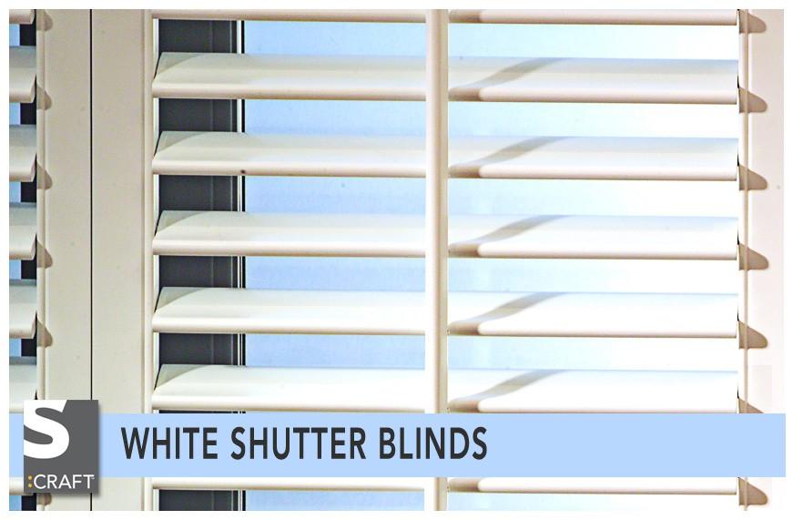 Simple Shutter Blinds