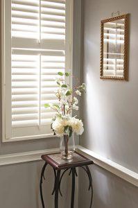 Woodlore grayroom shutters