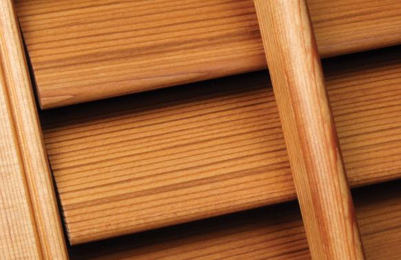 wooden louvre focus