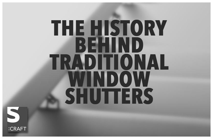 Traditional Window Shutters