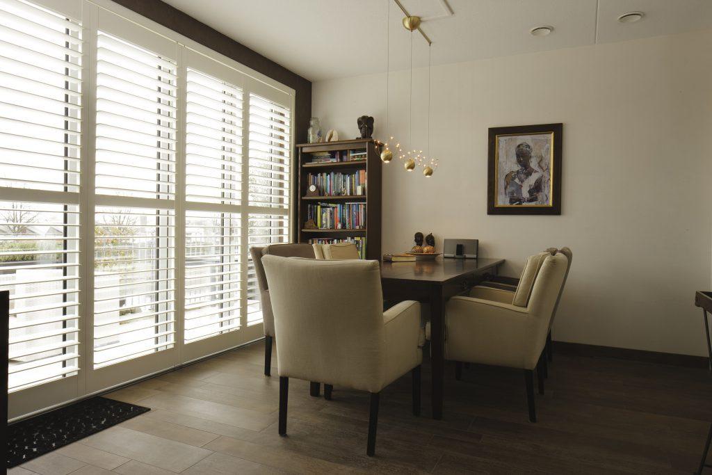 Bi-Fold Shutters Dining Room