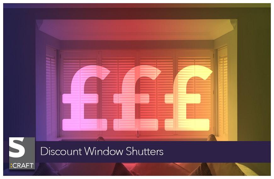 Discount Window Shutters