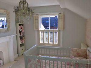 Shuttercraft Newcastle Tier on Tier Children Bedroom Shutters