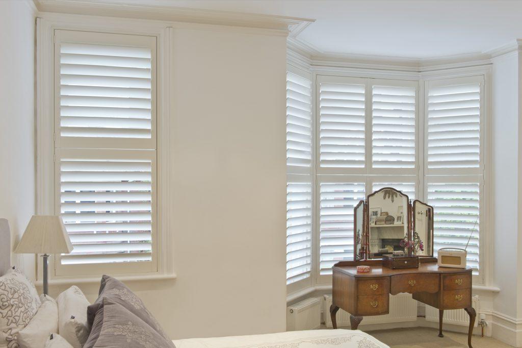 Bedroom Bay Window shutters