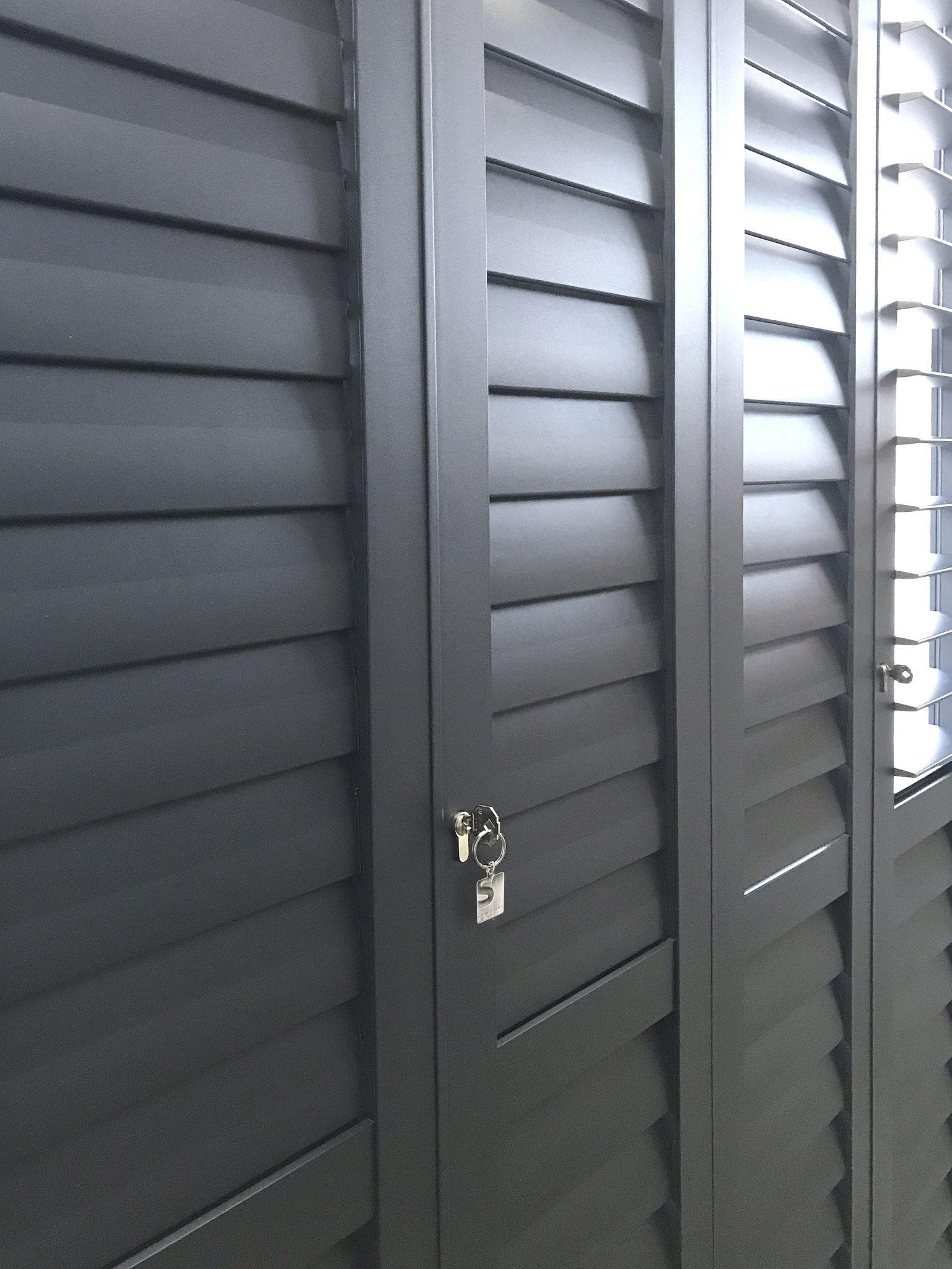 Portchester Aluminium Shutters