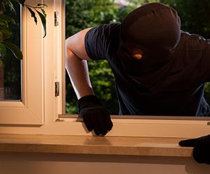 Intruder resistant home windows