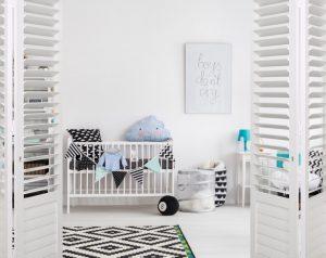 Nursery Aluminium Shutters security