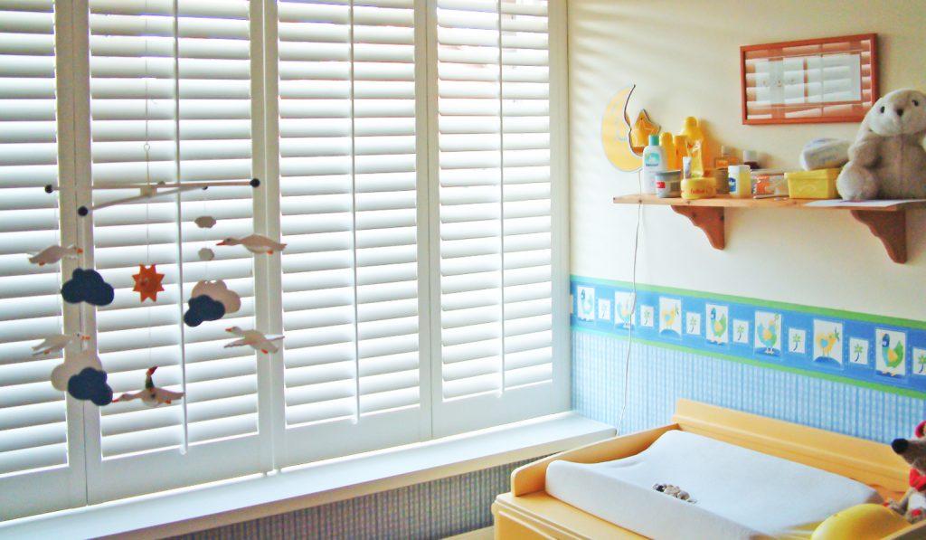 Cleaner Shutters Hygienic Kids Bedroom