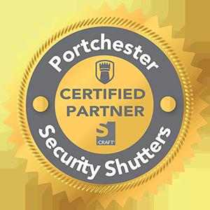 Portchester Certified Partner Redux Shutter Logo